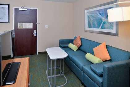 Living Area | SpringHill Suites by Marriott Pasadena Arcadia