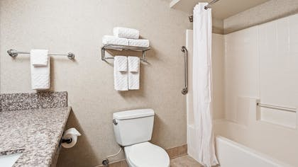 Bathroom | Best Western Plus North Las Vegas Inn & Suites