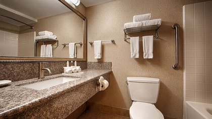 Bathroom Amenities | Best Western Plus North Las Vegas Inn & Suites