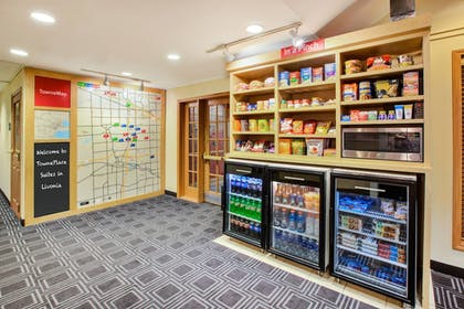 Snack Bar | Towneplace Suites By Marriott Detroit Livonia