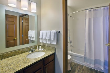 Bathroom | Towneplace Suites By Marriott Detroit Livonia