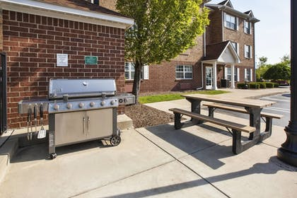 BBQ/Picnic Area | Towneplace Suites By Marriott Detroit Livonia