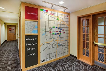 Hotel Interior | Towneplace Suites By Marriott Detroit Livonia