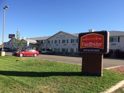 Hotel Front | Fairbridge Inn & Suites, Miles City