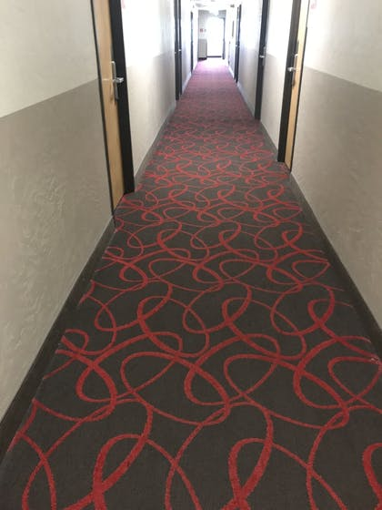 Hallway | Super 8 by Wyndham Portland Airport