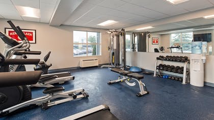 Fitness Facility | Best Western Plus Franklin Square Inn Troy/Albany