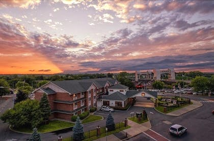 Aerial View | Best Western Plus Franklin Square Inn Troy/Albany