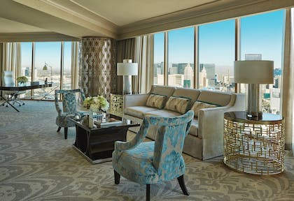 Living Area | Four Seasons Hotel Las Vegas