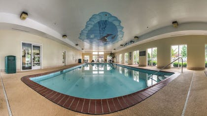 Indoor Pool | Comfort Suites At Rivergate Mall
