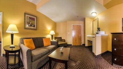 Living Room | Comfort Suites At Rivergate Mall