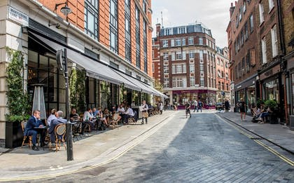 Outdoor Dining | The Marylebone Hotel