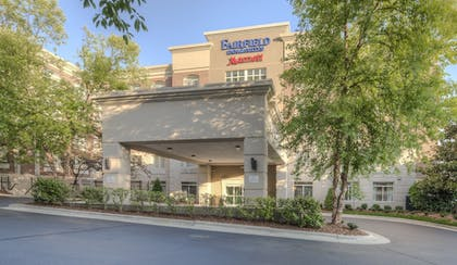 Hotel Front | Fairfield Inn & Suites by Marriott Winston-Salem Downtown