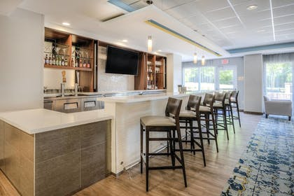 Hotel Bar | Fairfield Inn & Suites by Marriott Winston-Salem Downtown