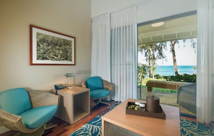Living Area | Turtle Bay Resort