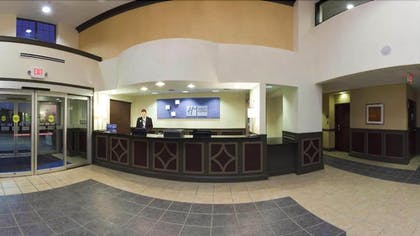 Reception | Holiday Inn Express Hotel & Suites Indianapolis East