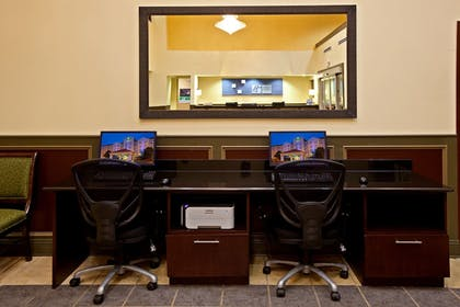 Business Center | Holiday Inn Express Hotel & Suites Indianapolis East