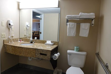Bathroom | SureStay Plus Hotel by Best Western Gatlinburg
