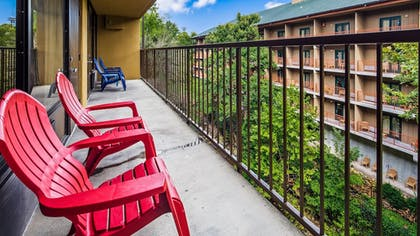 Balcony View | SureStay Plus Hotel by Best Western Gatlinburg