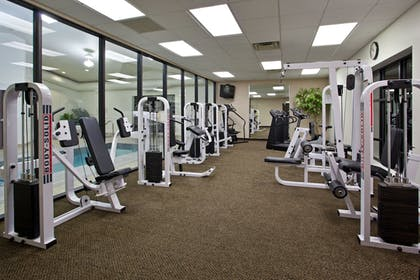 Fitness Facility | Holiday Inn Express Hotel & Suites WADSWORTH