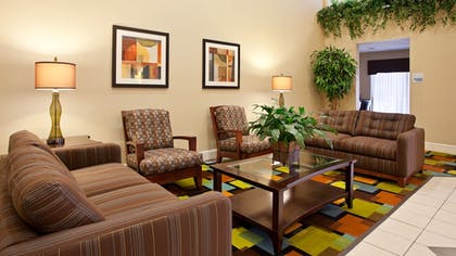 Lobby | Holiday Inn Express Hotel & Suites WADSWORTH