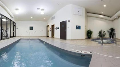 Indoor Pool | Holiday Inn Express Hotel & Suites WADSWORTH