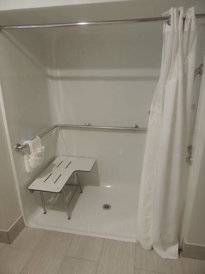 Bathroom Shower | Holiday Inn Express & Suites Birmingham Trussville