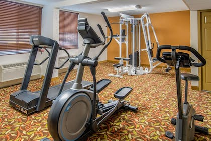 Fitness Facility | Quality Inn Downtown 4th Avenue