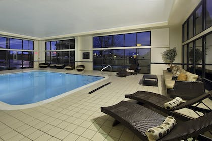 Indoor Pool | Hampton Inn Ashtabula