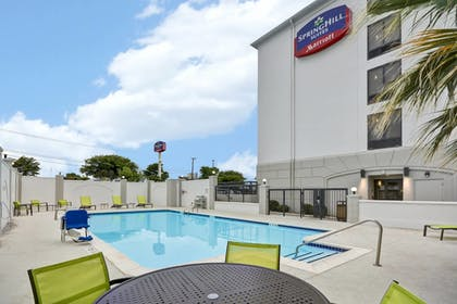 Outdoor Pool | SpringHill Suites by Marriott San Antonio Medical Center/NW