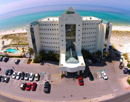 Hotel Front | Holiday Inn Express Pensacola Beach