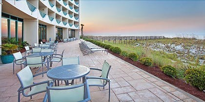 Terrace/Patio | Holiday Inn Express Pensacola Beach