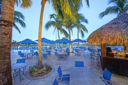Poolside Bar | The Double Tree by Hilton Beach Resort