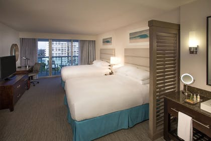 Guestroom | The Double Tree by Hilton Beach Resort