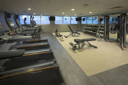 Fitness Facility | The Double Tree by Hilton Beach Resort