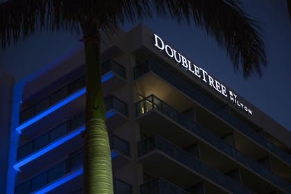 Hotel Front | The Double Tree by Hilton Beach Resort