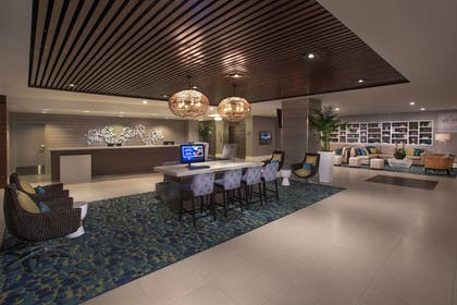 Interior Entrance | The Double Tree by Hilton Beach Resort