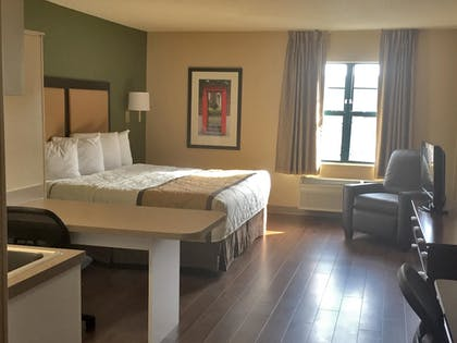 Guestroom   Extended Stay America Chicago - Gurnee