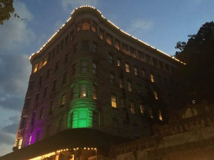 Hotel Front - Evening/Night | Basin Park Hotel and Spa