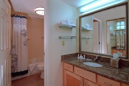 Bathroom | Residence Inn by Marriott Salt Lake City - Downtown