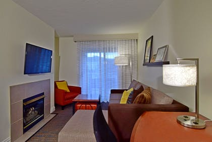 Living Area | Residence Inn by Marriott Salt Lake City - Downtown