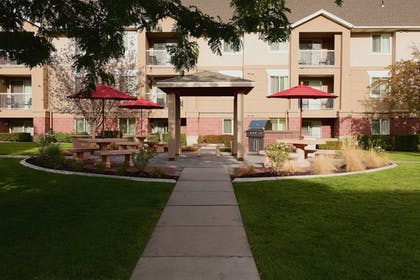 Terrace/Patio | Residence Inn by Marriott Salt Lake City - Downtown