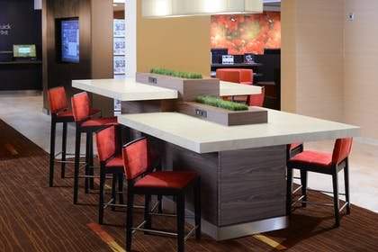 Lobby Sitting Area | Courtyard by Marriott Fort Worth Fossil Creek