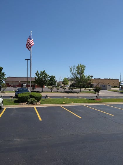 View from Hotel | Comfort Inn South Tulsa - Woodland Hills