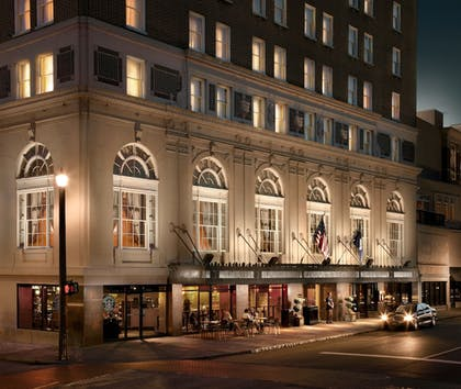 Hotel Front - Evening/Night | The Francis Marion Hotel