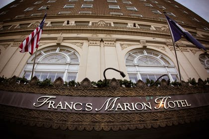 Exterior detail | The Francis Marion Hotel