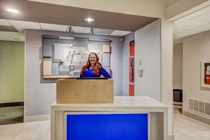 Check-in/Check-out Kiosk | Holiday Inn Express Hotel & Suites Greenville Airport