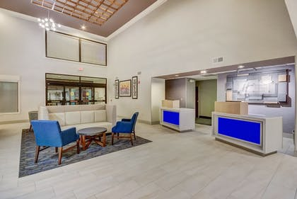 Lobby | Holiday Inn Express Hotel & Suites Greenville Airport