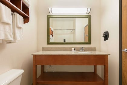 Bathroom | Baymont by Wyndham Oklahoma City/Quail Springs