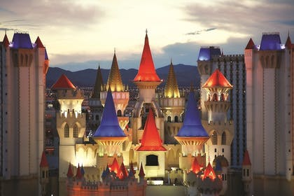 Front of Property - Evening/Night | Excalibur Hotel & Casino