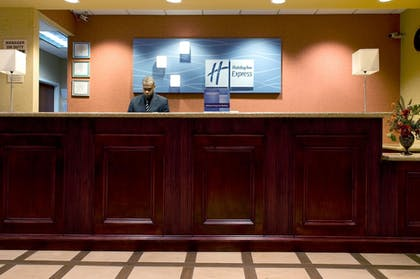 Lobby | Holiday Inn Express Hotel & Suites DFW Airport South